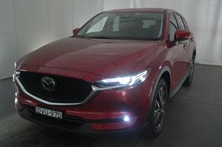 2017 Mazda CX-5 KF4W2A Akera SKYACTIV-Drive i-ACTIV AWD Soul Red 6 Speed Sports Automatic Wagon.