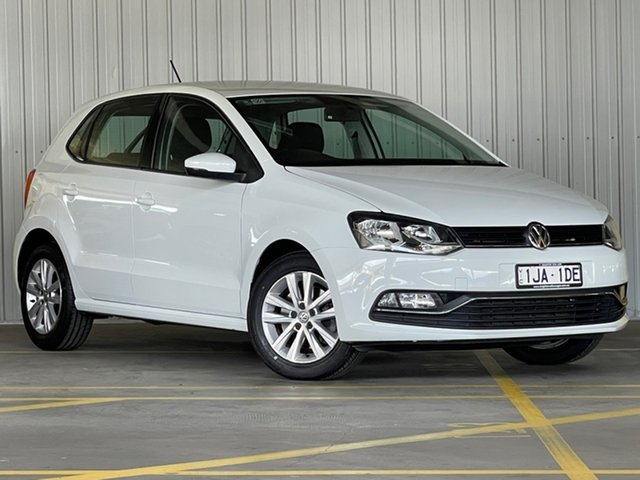 Used Volkswagen Polo 6R MY17 81TSI DSG Comfortline Moorabbin, 2017 Volkswagen Polo 6R MY17 81TSI DSG Comfortline White 7 Speed Sports Automatic Dual Clutch