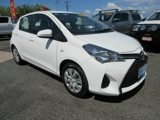 Used Toyota Yaris NCP130R Ascent Winnellie, 2017 Toyota Yaris NCP130R Ascent White 4 Speed Automatic Hatchback