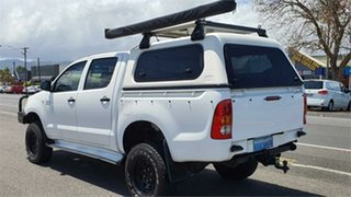 2007 Toyota Hilux GGN25R MY07 SR White 5 Speed Manual Utility.