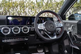 2021 Mercedes-Benz A-Class W177 801+051MY A180 DCT Polar White 7 Speed Sports Automatic Dual Clutch