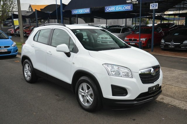 Used Holden Trax TJ MY15 LS Toowoomba, 2015 Holden Trax TJ MY15 LS White 6 Speed Automatic Wagon