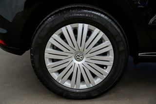 2016 Volkswagen Polo 6R MY16 66TSI DSG Trendline Black 7 Speed Sports Automatic Dual Clutch