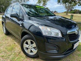 2015 Holden Trax TJ MY16 LS Black 6 Speed Automatic Wagon.