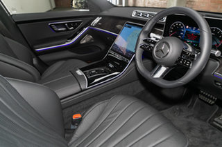 2021 Mercedes-Benz S-Class V223 801MY S450 L 9G-Tronic 4MATIC Obsidian Black 9 Speed.