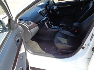 2017 Mitsubishi Lancer CF MY17 LS White 6 Speed Constant Variable Sedan