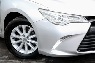 2015 Toyota Camry ASV50R Altise Silver 6 Speed Sports Automatic Sedan.
