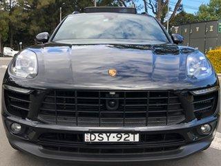 2018 Porsche Macan 95B MY18 S PDK AWD Black 7 Speed Sports Automatic Dual Clutch Wagon.