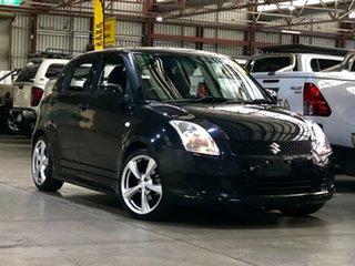 2010 Suzuki Swift RS415 S Black 5 Speed Manual Hatchback.