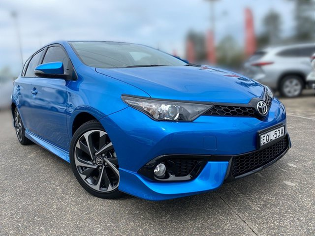 Pre-Owned Toyota Corolla ZRE182R SX S-CVT Cardiff, 2018 Toyota Corolla ZRE182R SX S-CVT Blue 7 Speed Constant Variable Hatchback