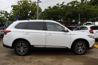 2018 Mitsubishi Outlander ZL MY18.5 LS 2WD White 6 Speed Constant Variable Wagon.