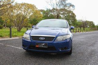 2010 Ford Falcon FG XT Blue 5 Speed Sports Automatic Sedan.