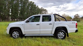 2017 Volkswagen Amarok 2H MY18 TDI420 4MOTION Perm Core Candy White 8 Speed Automatic Utility