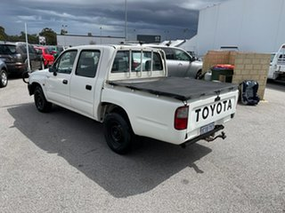 2002 Toyota Hilux LN147R White 5 Speed Manual Dual Cab Pick-up