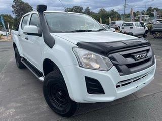 2019 Isuzu D-MAX MY19 SX Crew Cab White 6 Speed Sports Automatic Utility.