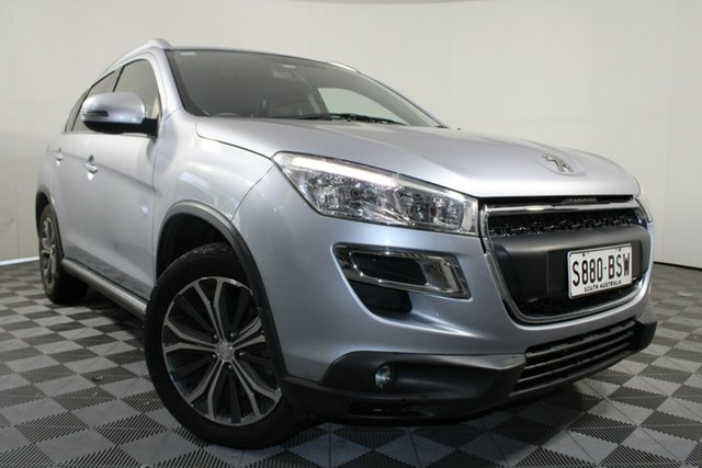 Used Peugeot 4008 MY12 Active 2WD Wayville, 2013 Peugeot 4008 MY12 Active 2WD Silver 6 Speed Constant Variable Wagon