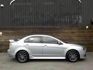 2014 Mitsubishi Lancer CJ MY14 ES Silver 6 Speed Constant Variable Sedan.