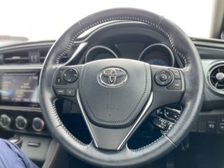 2018 Toyota Corolla ZRE182R SX S-CVT Blue 7 Speed Constant Variable Hatchback