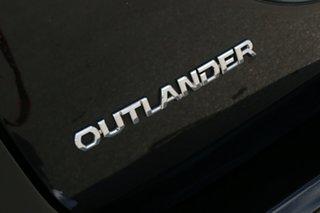 2012 Mitsubishi Outlander ZH MY12 LS Black 6 Speed Constant Variable Wagon