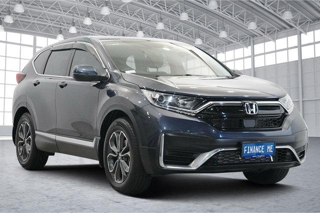 Used Honda CR-V RW MY21 VTi FWD X Victoria Park, 2020 Honda CR-V RW MY21 VTi FWD X Blue 1 Speed Constant Variable Wagon