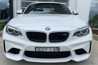 2016 BMW M2 F87 Pure Alpine White 6 Speed Manual Coupe.