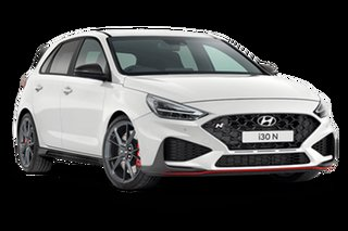 2021 Hyundai i30 PDe.V4 N Polar White 8 Speed Automatic Hatchback