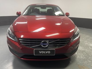 2016 Volvo S60 F Series MY17 T4 Adap Geartronic Kinetic Red 6 Speed Sports Automatic Sedan.