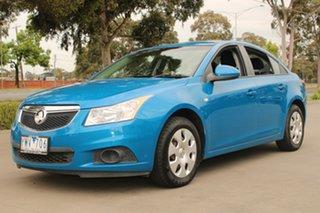 2012 Holden Cruze JH MY12 CD Blue 5 Speed Manual Sedan