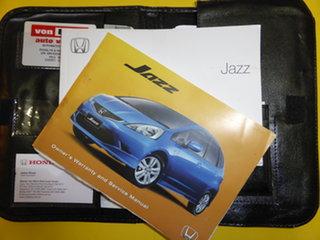 2008 Honda Jazz GE GLi White 5 Speed Automatic Hatchback