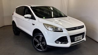 2013 Ford Kuga TF Ambiente 2WD White 6 Speed Manual Wagon.