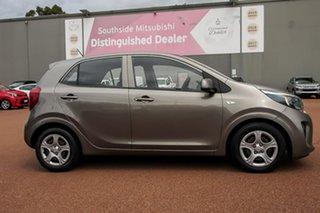 2018 Kia Picanto JA MY18 S Grey 4 Speed Automatic Hatchback.