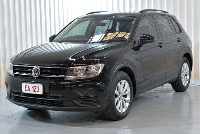 Used Volkswagen Tiguan 5N MY18 110TSI DSG 2WD Trendline Hendra, 2018 Volkswagen Tiguan 5N MY18 110TSI DSG 2WD Trendline Black 6 Speed Sports Automatic Dual Clutch
