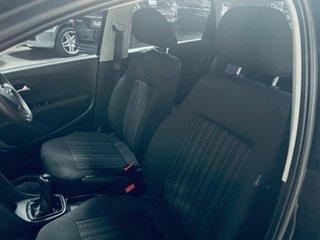 2015 Volkswagen Polo 6R MY16 66TSI Trendline Black 5 Speed Manual Hatchback