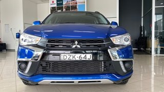 2018 Mitsubishi ASX XC MY19 ES 2WD Blue 1 Speed Constant Variable Wagon.