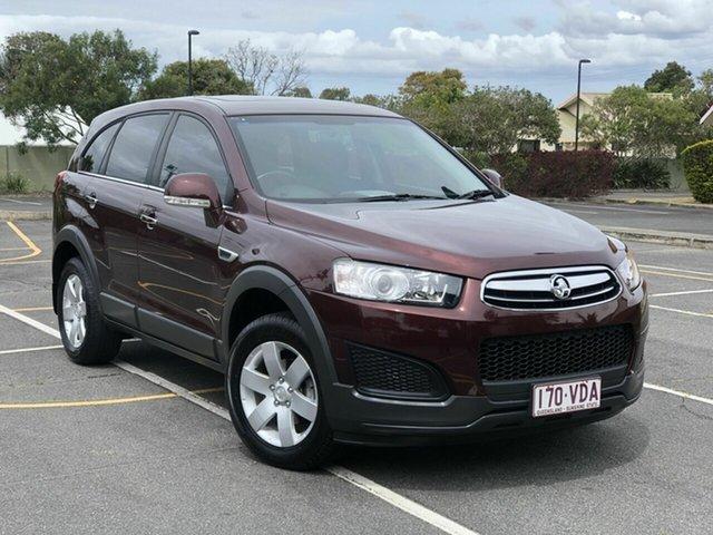 Used Holden Captiva CG MY14 7 LS Chermside, 2014 Holden Captiva CG MY14 7 LS Maroon 6 Speed Sports Automatic Wagon