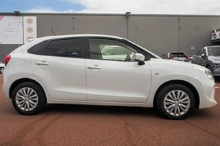 2019 Suzuki Baleno EW Series II GL White 4 Speed Automatic Hatchback.