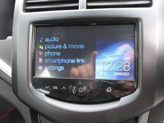 2013 Holden Barina TM MY14 RS Orange 6 Speed Sports Automatic Hatchback
