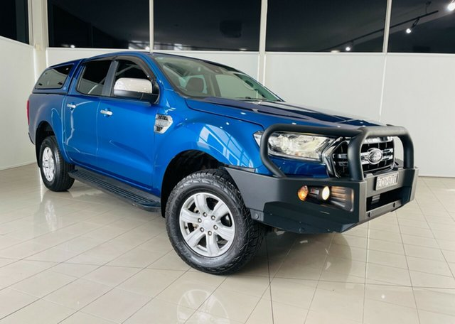Used Ford Ranger PX MkIII 2019.00MY XLT Hi-Rider Deer Park, 2019 Ford Ranger PX MkIII 2019.00MY XLT Hi-Rider Blue 6 Speed Sports Automatic Double Cab Pick Up