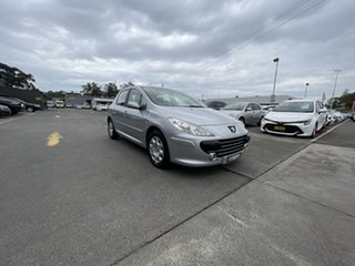 2006 Peugeot 307 T6 XS Silver 4 Speed Sports Automatic Hatchback.
