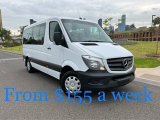2017 Mercedes-Benz Sprinter NCV3 313CDI Low Roof MWB 7G-Tronic Transfer White 7 Speed.