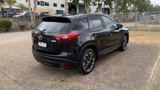 2015 Mazda CX-5 MY15 Akera (4x4) Black 6 Speed Automatic Wagon.