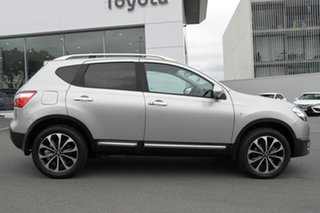 2013 Nissan Dualis J10W Series 4 MY13 Ti-L X-tronic AWD Silver 6 Speed Constant Variable Hatchback.