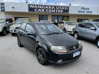 2007 Holden Barina TK MY07 Black 5 Speed Manual Hatchback.