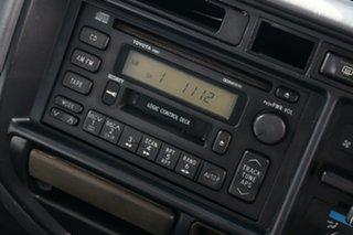 1997 Toyota Landcruiser FZJ80R 40th Anniversary Green 4 Speed Automatic Wagon