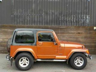 2002 Jeep Wrangler TJ Sport Bronze 5 Speed Manual Hardtop