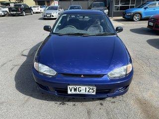 1996 Mitsubishi Lancer CC GLXi Blue 4 Speed Automatic Coupe.