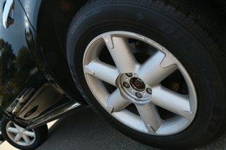 2008 Nissan Murano Z50 TI Black 6 Speed Constant Variable Wagon