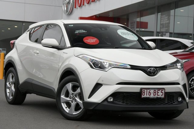 Pre-Owned Toyota C-HR NGX10R 2WD Woolloongabba, 2018 Toyota C-HR NGX10R 2WD White 6 Speed Manual Wagon
