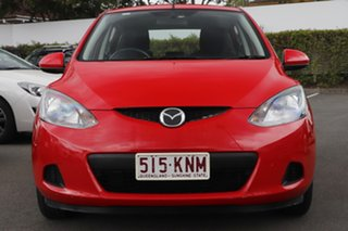 2007 Mazda 2 DE10Y1 Neo Red 4 Speed Automatic Hatchback.
