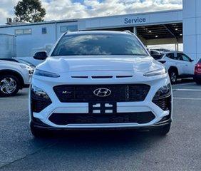 2021 Hyundai Kona Os.v4 MY21 N-Line D-CT AWD Saw 7 Speed Sports Automatic Dual Clutch Wagon.